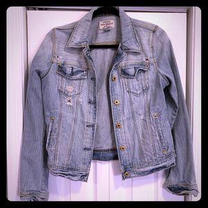 Polo distressed jean jacket, medium